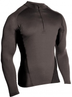 BLACKHAWK ENGINEERED FIT SHIRT, ДЛ/Р, 1/4молн, ЦВЕТ: BLACK
