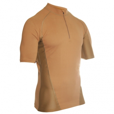 BLACKHAWK ENGINEERED FIT SHIRT, КОР/Р, 1/4молн, ЦВЕТ: COYOTE